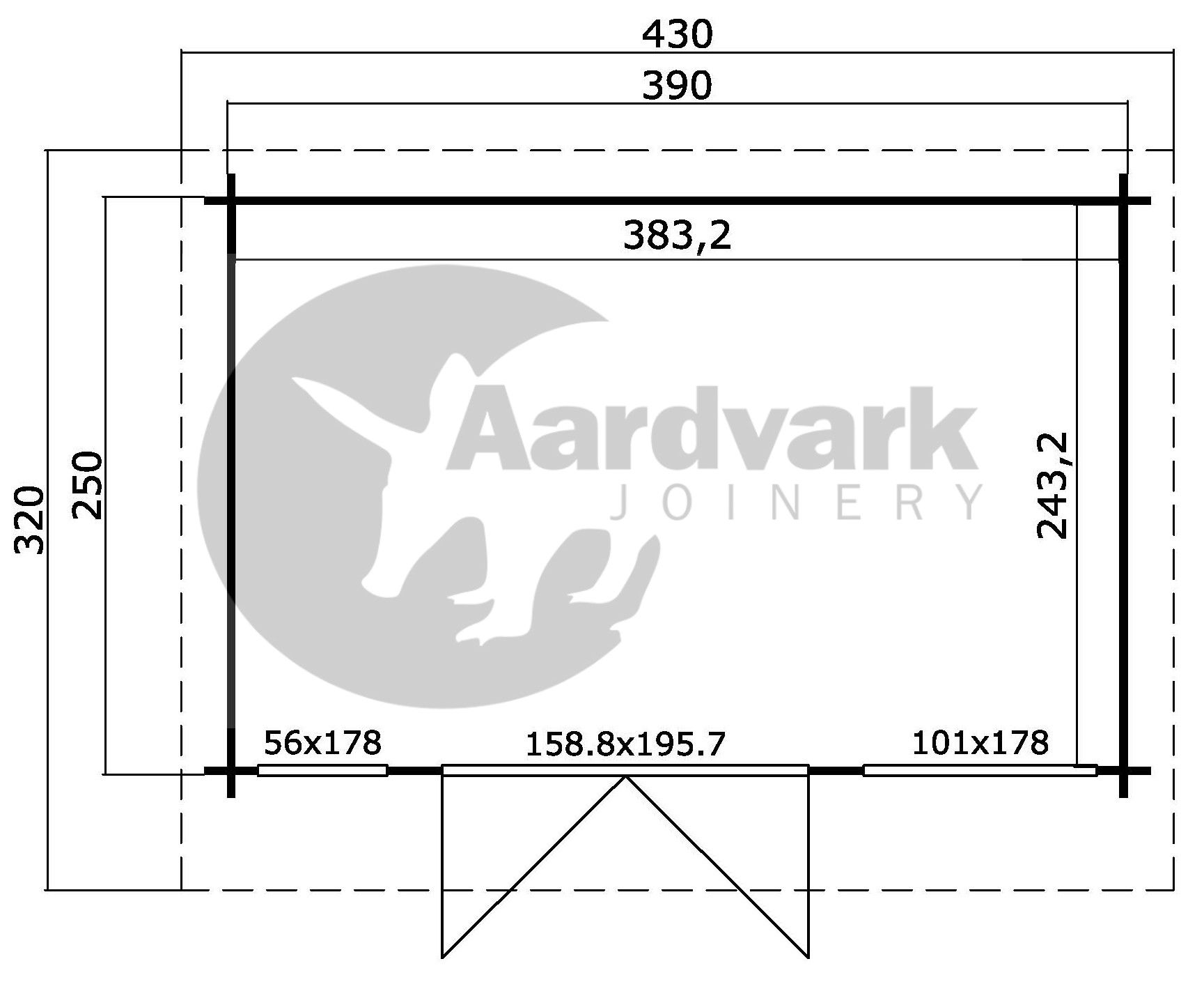 full measurement guide from Aardvark joinery